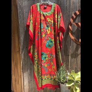 💫VINTAGE💫 Caftan Boho Dress